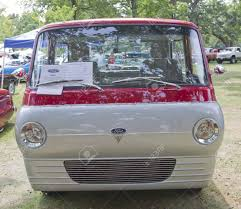 100 Econoline Truck WAUPACA WI AUGUST 25 Front Of 1966 Ford At
