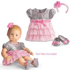 Amazoncom American Girl Bitty Baby Twirly Tiered Dress For Dolls