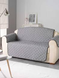 protege canape protège canapé imprimé rosace 223 x 179 cm linge de lit noir