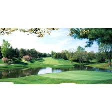 100 Golf Warehous Biggies 54 In X 27 In Congressional Wall Mural In