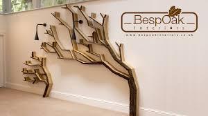 100 Tree Branch Bookshelves Building A Bookshelf Wall Feature By BespOak Interiors