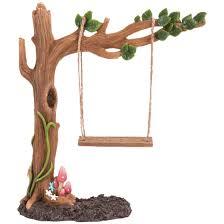 Fairy Swing Garden Statue