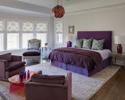 Modest Design Purple And Grey Bedroom Ideas Pictures Remodel Decor