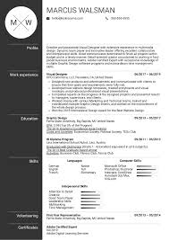 Resume Examples By Real People: Visual Designer Resume ... Graphic Design Resume Guide Example And Templates For 2019 Create Examples Picture Ideas Your Job Designer Cv Format Free Download Template Word 20 Best Designed Creative 17 Ui Samples And Cv Visualcv Sample Velvet Jobs Fresher By Real People