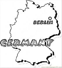 Germany Coloring Page