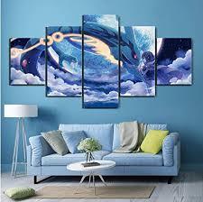 yywife bilder 5 teilig leinwandbilder wanddeko kunstdruck
