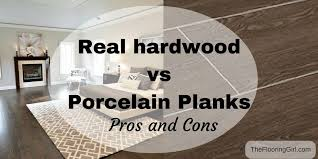 hardwood flooring vs tile planks that look like hardwood pros and