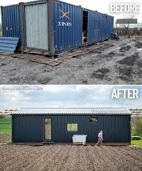 104 Building House Out Of Shipping Containers Young Family Built A For 30 000 Living In A Container