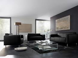 idee deco salon canape noir aménagement deco de salon gris salons living rooms and room
