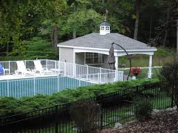12x20 Shed Plans With Porch by Custom Pool Houses Amish Mike Amish Sheds Amish Barns Sheds