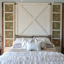 Build Barn Door Headboard Diy Headboard Home Barn Wood Headboard ... Bedroom Good Looking Diy Barn Door Headboard Image Of At Plans Headboards 40 Cheap And Easy Ideas I Heart Make My Refurbished Barn Door Headboard Interior Doors Fabulous Zoom As Wells Full Rustic Diy Best On Board Pallet And Amazing Cottage With Cre8tive Designs Inc Fniture All Modern House Design Boy Cheaper Better Faux Window Covers Youtube For Windows