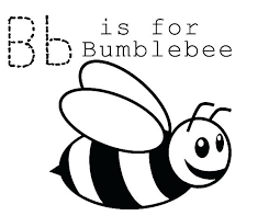Bumble Bee Coloring Pages For Preschoolers