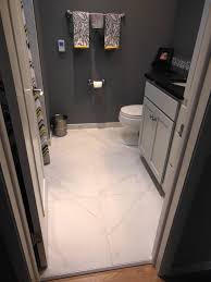 chic decorating ideas with marble porcelain tile bathroom marble