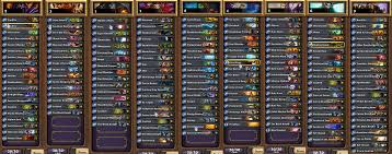 Amaz Deck List by Hearthstone News All Decklists And Class Stats From Viagame U0027s