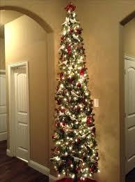 Pre Lit Pencil Christmas Trees Tall Skinny Thin Artificial Tree Decor 6ft Kingswood Fir