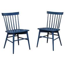 windsor dining chair navy set of 2 threshold target