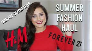 SUMMER Fashion Haul 2017