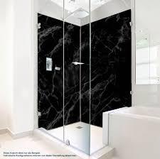 duschrückwand marmor schwarz bei plateart de kaufen