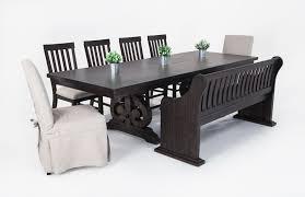 sanctuary 8 piece dining set bob s discount furniture