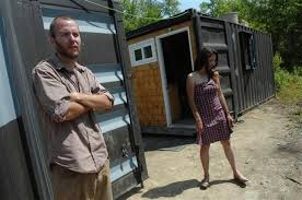 100 Off Grid Shipping Container Homes From The Home Front Couple Use Cargo Containers For Off