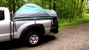 100 Pickup Truck Tent Guide Gear Compact Rainstorm Review FINE YouTube
