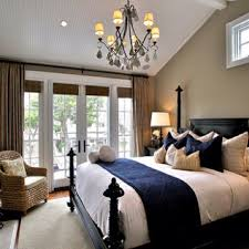 Master Bedroom Accented Neutral Shades Of Brown Tan And Eggshell With