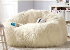 Furry Bean Bag Chair