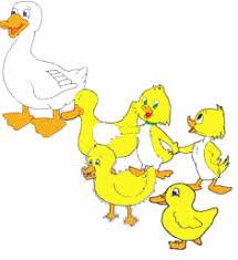 Five Little Ducks Felt Board Printables