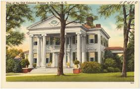 Colonial Homes by One Of The Colonial Homes In Chester S C Digital Commonwealth