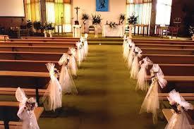 Rustic Wedding Church Decorations