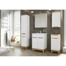 badezimmer hängeschrank kalli 1 türig weiß hochglanz
