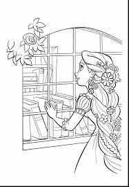 Impressive Princess Rapunzel And Flynn Coloring Pages With Print