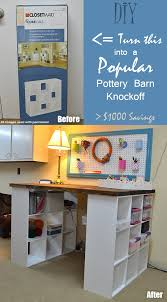 Pottery Barn Desks Used by Do It Yourself Pottery Barn Knockoff Project Desk And Save 1 000