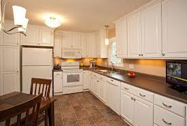 All White Kitchen Modest Budget In Burnsville Mn