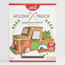 100 Truck Kits Holiday Gingerbread Cookie Kit World Market