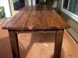 Diy Dining Table Pallet Wood Recycled