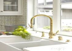 Delta Trinsic Kitchen Faucet Champagne Bronze by Gold Faucet Kitchen Delta Gold Trinsic Kitchen Faucet Chic And
