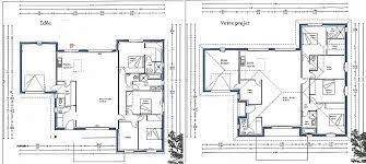 plan maison plain pied 3 chambres en l plan maison 120m2 3 chambres awesome plan de maison 90m2 plain pied