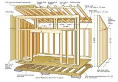 8x12 Storage Shed Blueprints by Beautiful 8x12 Storage Shed Plans 8x12 Shed Plans Home Design