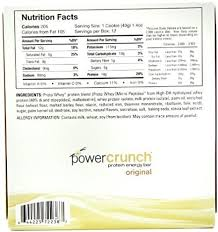 Com Power Crunch Protein Energy Bar Orignal French Vanilla Creme 1 4 Ounce Bars 12 Count