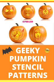 Legend Of Zelda Pumpkin Template by Geeky Pumpkin Stencils Cuteek