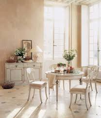 Shabby Chic Dining Room Table And Chairs by Shabby Chic Round Kitchen Table Solid Mahogany Wood Frame