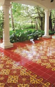 your floor two tiles to