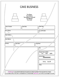 Items similar to Cake Business Order Form on Etsy