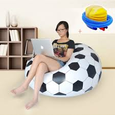 US $25.48 51% OFF|Fashion Inflatable Sofa Air Soccar Football Self Bean Bag  Chair Portable Outdoor Garden Sofa Living Room Furniture Corner Sofa-in ... Tradesk Xxxl Chair Without Beans Evolve Kids Pu Soccer Ball Beanbag Cover 150l Football Cozy Filled Bean Bag Sack Comfort College Dorm Senarai Harga Opoopv Inflatable Sofa Cool Design Ball Bag Chair 3d Model In 3dexport For And Players Orka Classic Teal White Sports Xxl Research Big Joe Small Comfy Bags Xl With Best Offer How Do I Select The Size Of A Bean Much Beans Are Cotton Arm Child