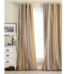 Gold And White Curtains by Astonishing Design Gold And White Striped Curtains Sweet Looking