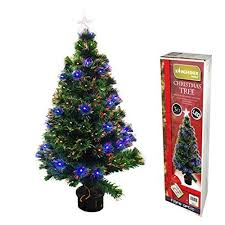 Small Fibre Optic Christmas Trees Uk by 90cm 3ft Fibre Optic Christmas Tree 88 Tips Amazon Co Uk