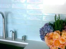 light blue wall tiles simple kitchen with subway peel stick tile