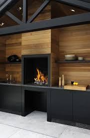 meuble cuisine exterieure bois cuisine extérieure design en bois et meubles noir meuble noir