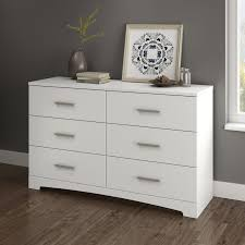 South Shore Step One Dresser White by South Shore Gramercy 6 Drawer Double Dresser Hayneedle